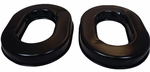 David Clark 40243G-02 Black Gel Filled Flo-Fit Headset Ear Seals - Pair