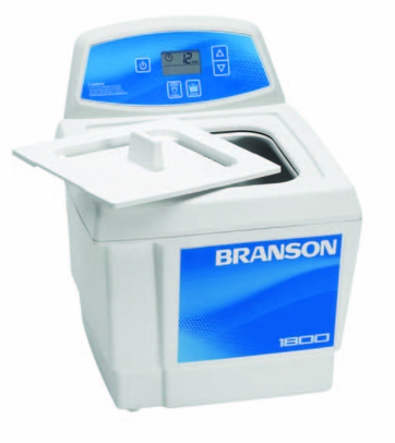 Bransonic® CPX-952-118R Ultrasonic Cleaner CPX1800H - Digital Timer - Heater - Degas - Temp Monitor