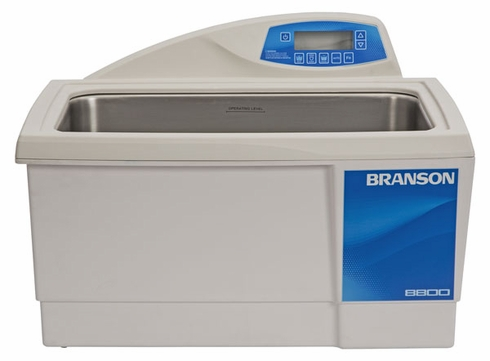 Bransonic® CPX-952-818R Ultrasonic Cleaner CPX8800H - Digital Timer - Heater - Degas - Temp Monitor