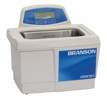 Bransonic® CPX-952-218R Ultrasonic Cleaner CPX2800H - Digital Timer - Heater - Degas - Temp Monitor