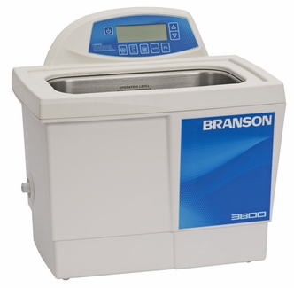 Bransonic® CPX-952-318R Ultrasonic Cleaner CPX3800H - Digital Timer - Heater - Degas - Temp Monitor