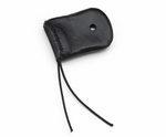 Pilot USA PA-11 Leather Microphone Cover & Foam Windscreen - For Electret Microphone