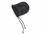 Pilot USA PA-11L Large Leather Microphone Cover & Foam Windscreen