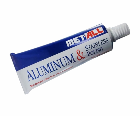 Met-All BP-2 Aluminum & Stainless Polish - 2.5 oz Tube