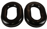David Clark 40863G-02 Black Gel Headset Undercut Headset Ear Seal - Pair