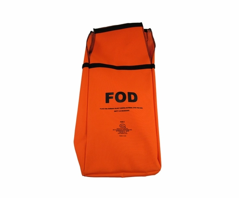 Seitz Scientific FOD-1A Fluorescent Orange FOD Bag with Belt Loops