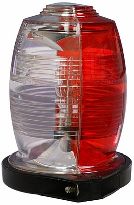 Whelen 01-0770019-23 Model A470ADS Split Red/White Shielded Strobe Head Assembly