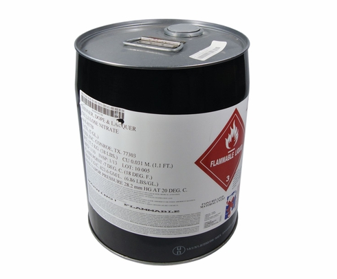 Federal Specification A-A-857B NOT.3 Clear Lacquer Thinner - 5 Gallon Pail