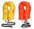 EAM Worldwide P01074-201W Yellow XF-35 Twin-Cell Life Vest with Whistle