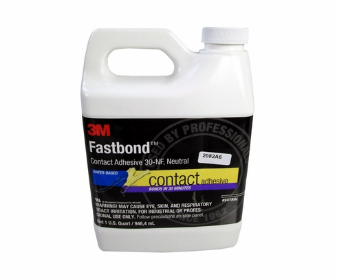 3M� 021200-21180 Fastbond� 30NF Neutral Contact Adhesive - Quart Bottle