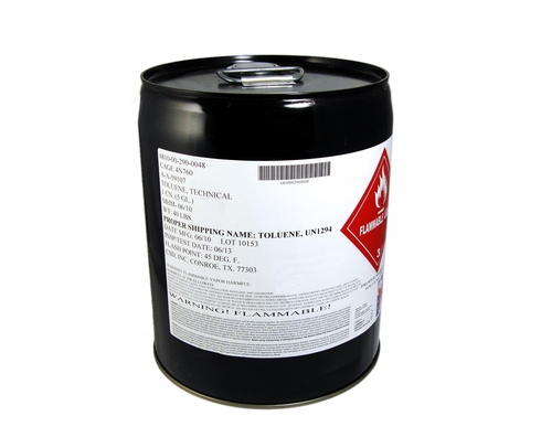 Federal Specification A-A-59107B Toluene - 5 Gallon Pail