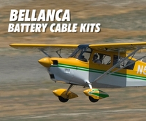 Bellanca Low Loss Aircraft Battery Cable Kits