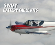 Swift Low Loss Aircraft Battery Cable Kits