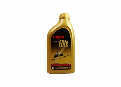 Exxon Mobil Elite 20W-50 Aircraft Oil - Quart Bottle