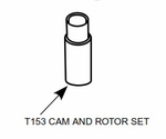 Champion Slick T-153 Alternate Cam and Rotor Set