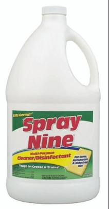 ITW Spray Nine� 26801 Heavy-Duty Cleaner+Degreaser+Disinfectant - Gallon Jug