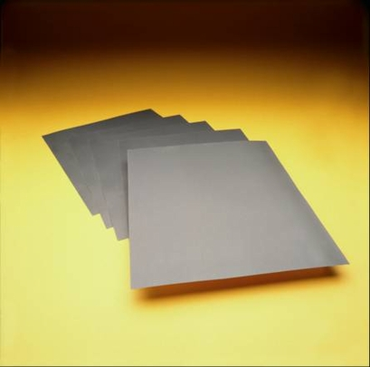 "3M 051144-02018 Wetordry� Black 431Q 80 Grade C-weight Paper Sheet - 9"" x 11"" Sheet"