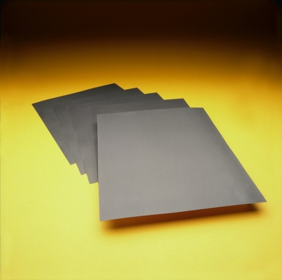 "3M 051144-02016 Wetordry 431Q Sandpaper - 9"" x 11"" Sheets - ""C"" Weight - 120 Grade"