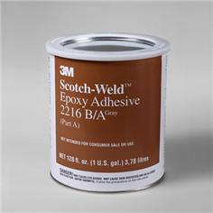 3M 021200-20358 Gray Scotch-Weld 2216 B/A Epoxy Adhesive - A+B Gallon Kit