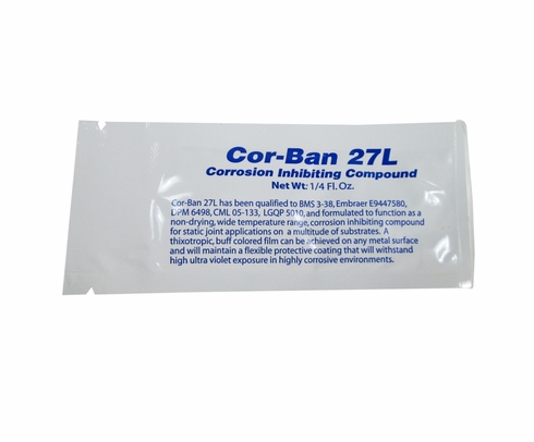 Zip Chem 012034 Cor-Ban 27L Corrosion Inhibiting Compound - 0.25 oz Packet