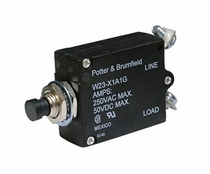 Potter & Brumfield W23 Series Aircraft Circuit Breakers