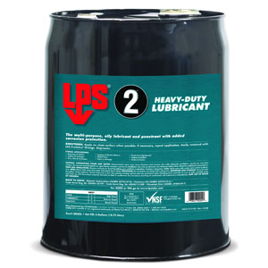 LPS 00205 LPS 2� Heavy-Duty Lubricant - 5 Gallon Steel Pail