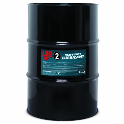 LPS 00255 LPS 2� Heavy-Duty Lubricant - 55 Gallon Steel Drum