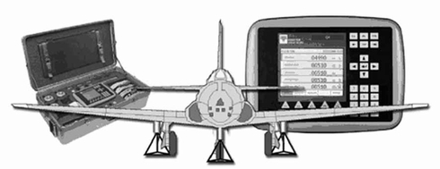 Revere JW-300J5 JetWeigh-5 (Cabled) Aircraft Weighing System