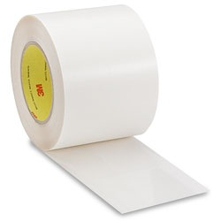 "3M™ 70-0000-3879-7 Transparent 8671 Polyurethane 14 Mil Protective Tape - 18"" x 36 Yard Roll"