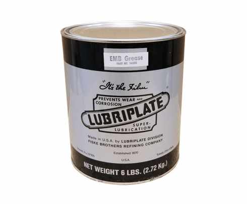 LUBRIPLATE� L0067-005 No. 630-AA White NLGI Grade 1 Multi-Purpose Lithium Grease - 6 LB Tub