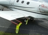 Plane Sights™ SWSCX3CIT030 Reflective Yellow Round Style (Citation & Learjet) Static Wick Covers - 3 Cover/Pack