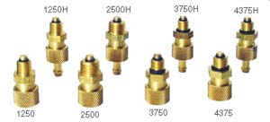 "Saf-Air 3750 Brass 3/8""-24 NPT Lock Open Fuel Drain Valve"