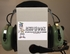 David Clark 40614G-05 Model H10-66XL ENC Battery Power Over-the-Head 5-Foot Coil Cord Dual Impedance Military Headset