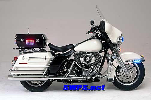 harley davidson police motorcycle equipment installation. Black Bedroom Furniture Sets. Home Design Ideas