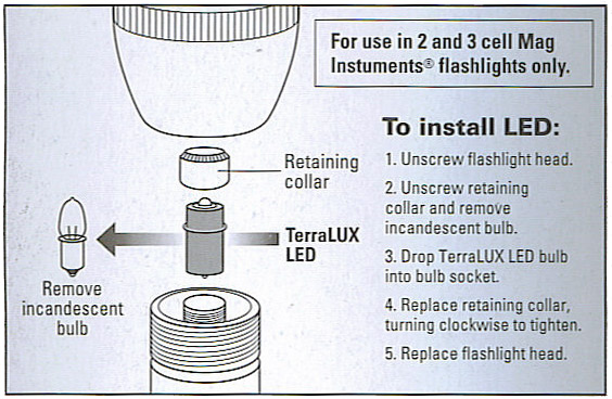 terralux ministar5 led upgrade for 2 3 cell c\u0026d maglite flashlightsterralux ministar5 led upgrade for 2 3 cell c\u0026d maglite flashlights tle 6exb