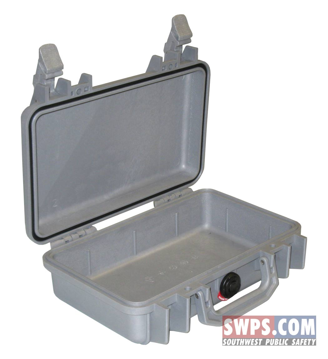 Pelican 1170 Case No Foam Silver From Swps Com