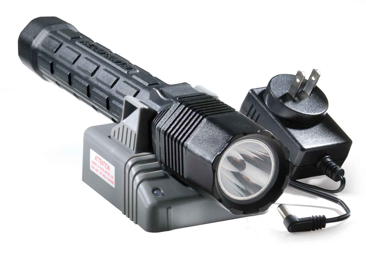 Pelican 8060 LED Rechargeable Flashlight AC from SWPS.com