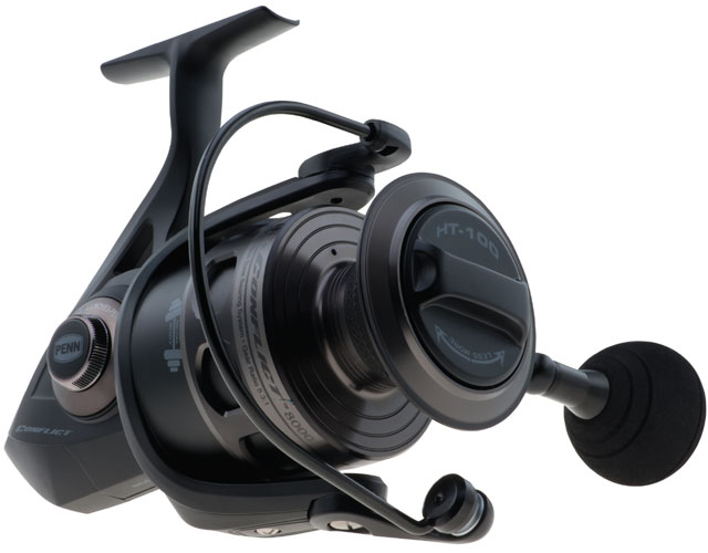 Penn conflict spinning reels tackledirect for Penn fishing combos