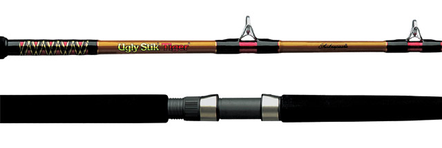 Shakespeare bwc 2201 70 ugly stik tiger rod casting for Tiger fishing rod