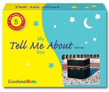 "My ""Tell Me About"" Box (Gift Box of 5 ""Tell Me"" Hardbound Books) [Prophets Muhammed, Musa, Yusuf (peace be upon them), Hajj and Creation]"