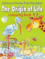 The Origin of Life Colouring Book (Children's Stories from the Quran)