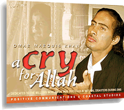 Cry for Allah (audio CD) Omar Marquis Khan (Non-Music Version)