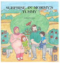 Surprise in Mommy's Tummy