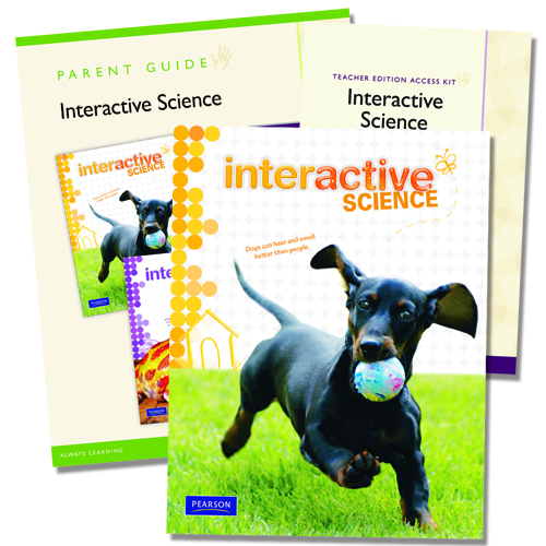 Interactive Science: A Science Curriculum by Pearson Grade 1 Homeschool  Bundle (9780328748624)