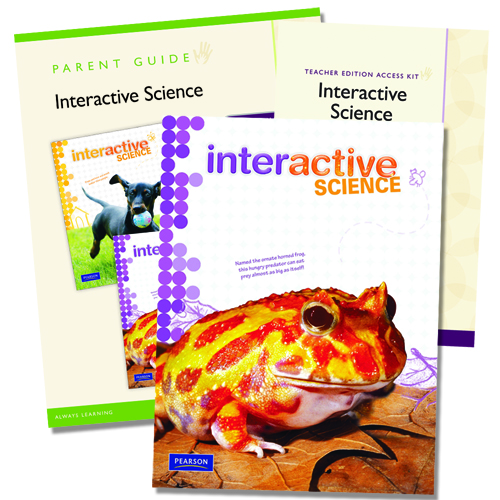Science By Design Curriculum: Interactive Science: A Science Curriculum By Pearson Grade