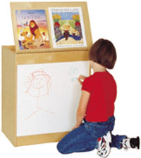 Big Book Display with Whiteboard by Wood Designs (wd-24100)