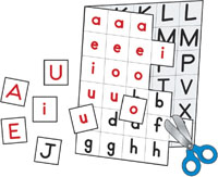 Individual Making Words Letters by Carson-Dellosa