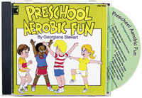 Preschool Aerobic Fun CD by Kimbo (kim-7052cd)