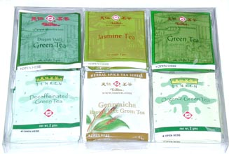 Can T Decide Which Of Our Fine Green Tea Bag Products To Order Tenren S Variety Pack Lets You Sample Six The Following Por Teas Five