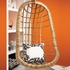 Two's Company Hanging Rattan Chair - SPECIAL OFFER